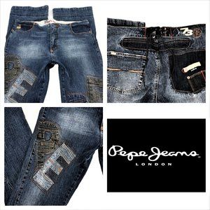 Pepe Jeans Patchwork Logo